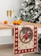 Новогодняя коллекция / Испанская новогодняя коллекция из гобелена - Путешествие Деда Мороза Салфетка 35х100 см 7173