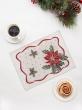 Новогодняя коллекция / Испанская новогодняя коллекция из гобелена - Пуантесия Салфетка 31х43 см 7592